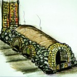 割竹式窖窯