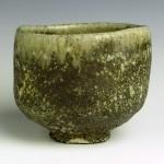 抹茶茶碗 地下式穴窯+炭化窯焼成